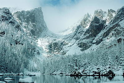A Dream At Dream Lake Art Print by Eric Glaser