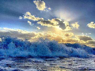 Photograph - A Dream Of An Ocean by Andrew Royston