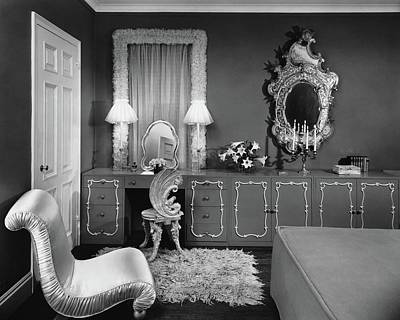 A Dressing Room Art Print by Emelie Danielson