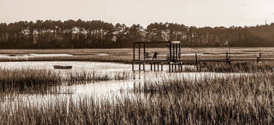 Photograph - A Drift In Beaufort by Scott Hansen