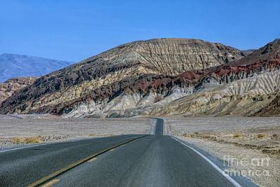 Photograph - A Drive Through Death Valley by Peggy Hughes
