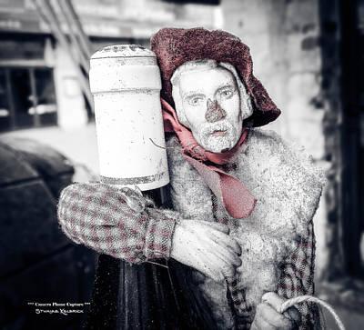Photograph - A Drunk Puppet Life by Stwayne Keubrick