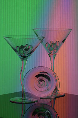 A Dry Martini Art Print by Mike Martin