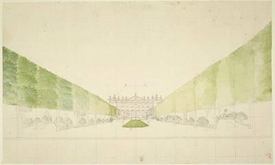 A Dutch Mansion Art Print by British Library