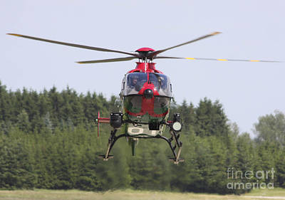 A Eurocopter Ec135 Used By German Art Print by Timm Ziegenthaler