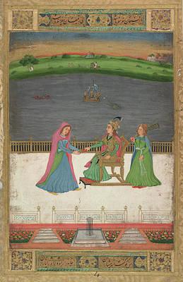 A European Princess Art Print