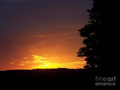 Photograph - A Fading Sunset by Steven Valkenberg