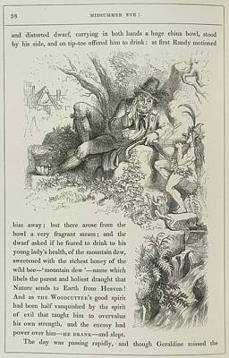 A Fairy Tale Of Love Art Print by British Library