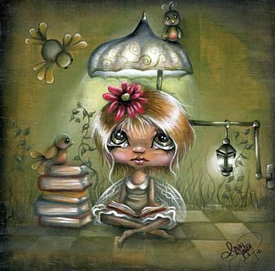 Novel Painting - A Fairyland Novel by Robin Sample