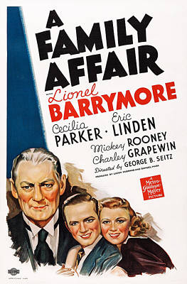 A Family Affair, Us Poster, From Left Art Print