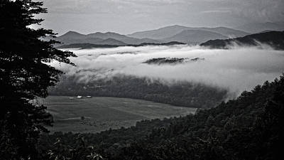 Photograph - A Farm In The Smokies by George Taylor
