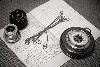 Barometer Photograph - A Farmer's Journal by Will Gunadi