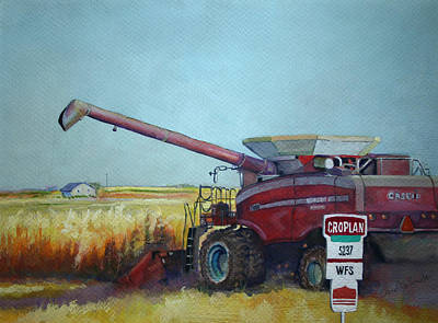 Painting - A Farmer's Life by Carol Jo Smidt