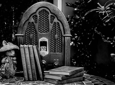 Justin Woodhouse Photograph - A Father's Garden Retreat by Kaleidoscopik Photography
