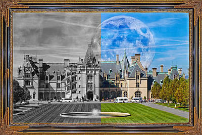 Biltmore Mixed Media - A Feeling Of Past And Present by Betsy Knapp