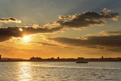 Liverpool Photograph - A Ferry Nice Sunset by Phillip Orr