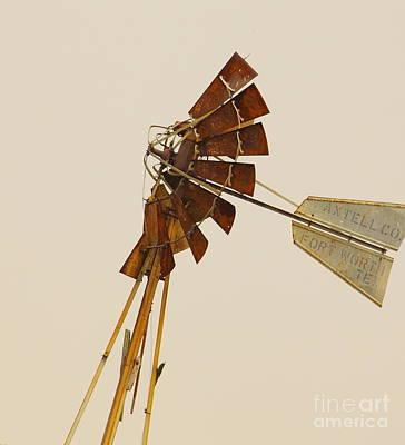 A Fierce Prairie Wind Art Print by Robert Frederick