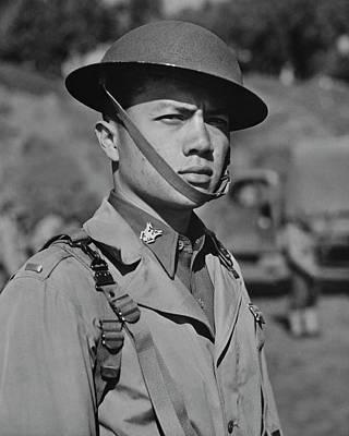 A Filipino Lieutenant Serving Art Print by Stocktrek Images