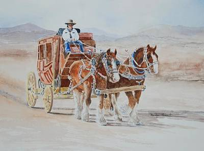 Painting - A Fine Ride II by Marilyn  Clement