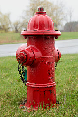 Photograph - A Fire Hydrant by Courtney Webster