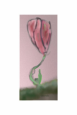 A First Art Print by Lenore Senior