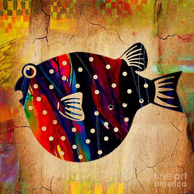 A Fish Tale Art Print