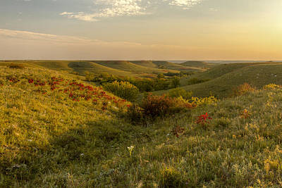 Photograph - A Flint Hills View by Scott Bean