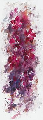 Mystical Landscape Painting - a floral dream III by Rachel Christine Nowicki