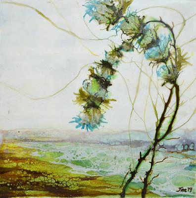 Painting - A Flower Dance by Jennifer  Creech