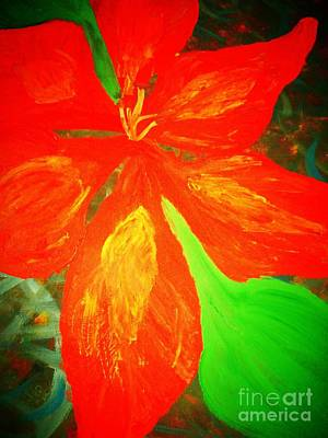 Mixed Media - A Flower For Love by Dori Meyers