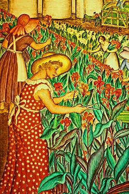 A Flower Harvest Art Print