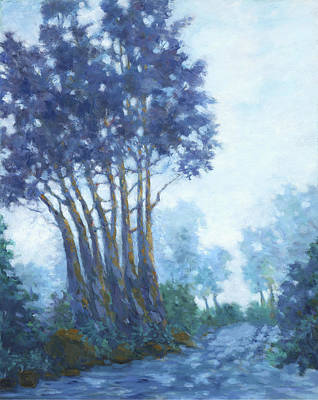 Painting - A Foggy Day Mill Valley by Dena Cornett