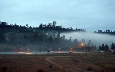 Photograph - A Foggy Eve by AJ  Schibig