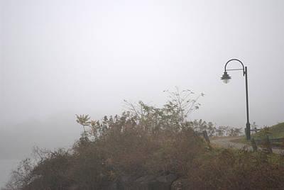 A Foggy Morning Art Print