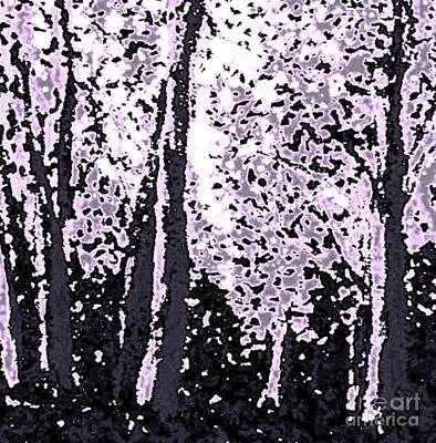 Painting - A Forest Silhouette by Hazel Holland
