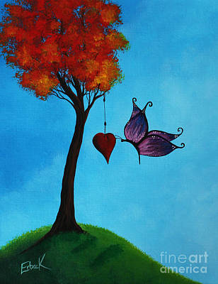 Multi Colored Painting - A Forever Moment by Shawna Erback