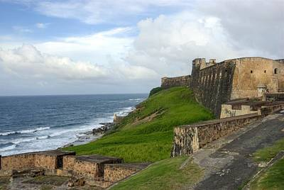 Photograph - A Fort In Old San Juan Puerto Rico by Willie Harper