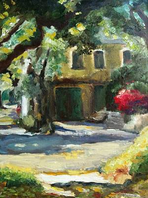 Painting - A French Cottage by Sharon Franke