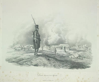 Adam Photograph - A French Sentry by British Library
