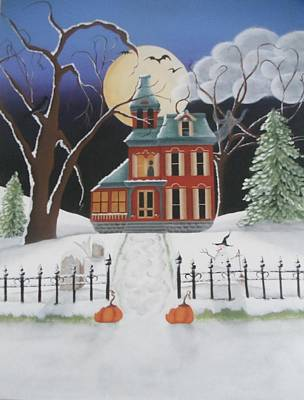 A Frosty Hallow's Eve Original