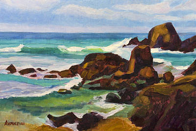 Painting - A Frouxeira Galicia by Pablo Avanzini