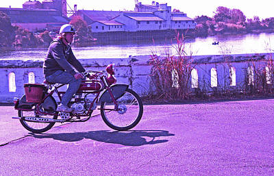 Photograph - A Fun Day For A Biker by Joseph Coulombe