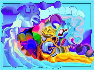 Unreal Digital Art - A Galaxy Of Cosmos by Jim Williams