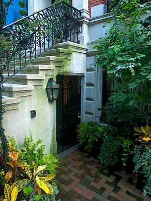 Photograph - A Garden Entrance by Cornelis Verwaal