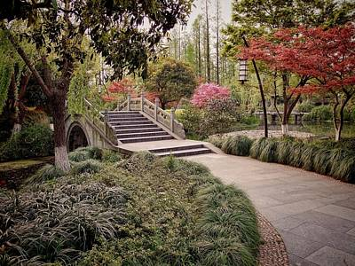 Photograph - A Garden Pathway by Robert Knight