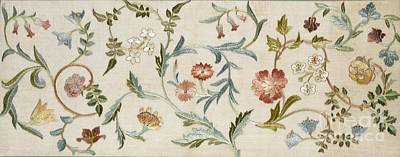 Embroidered Tapestry - Textile - A Garden Piece by May Morris
