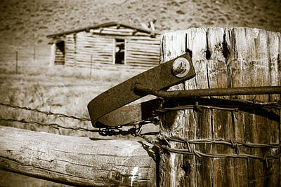 A Gate To The Past - Natrona County - Wyoming Original