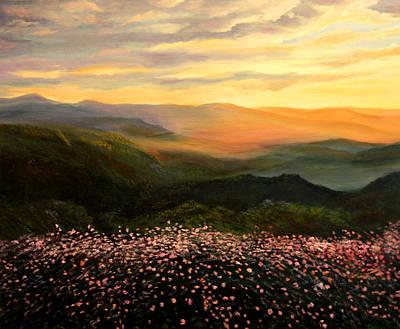 Painting - A Gentle Grandeur by Connie Tom