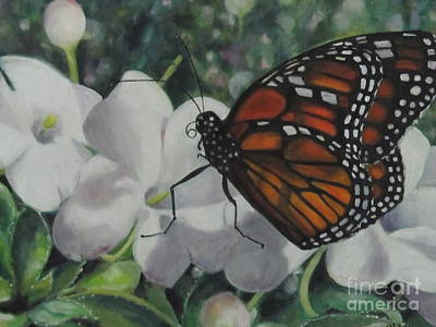 Painting - A Gentle Touch by Karen Olson