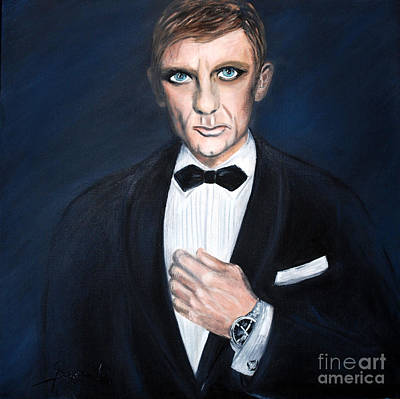 Painting - A Gentleman Of Good Fortune by Oksana Semenchenko